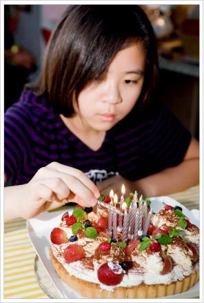 荳芽十二歲、蝴蝶八歲。生日快樂!
