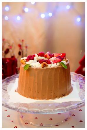 聖誕聚餐由這個美麗的蛋糕開始⋯⋯