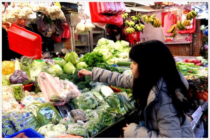 蝴蝶的學習教室——菜市場。